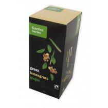 Garden series Green LemonGrass & Ginger Thee, Fair Trade 25 x 2 Gram