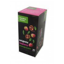 Garden series Delightful Raspberry Pomegranate , Fairtrade 25 x 2 Gram