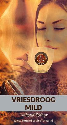 KST Vriesdroog koffie Mild 500 gram