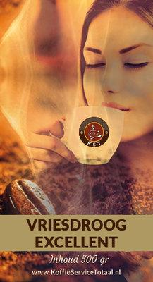 KST Vriesdroog Excellent Koffie 500 gram