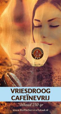 KST Vriesdroog Cafeïnevrije Koffie 250 gram