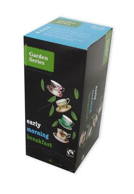 Garden series English Blend Early Morning Breakfast Fairtrade 25 x 2 Gram