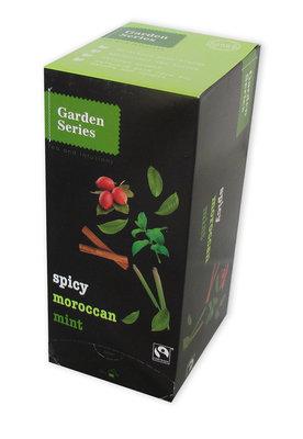 Garden series Spicy Moroccan Mint, Fairtrade 25 x 2 Gram