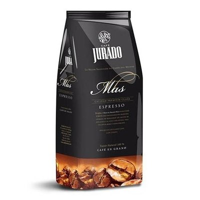 Jurado Mas Espresso Koffiebonen 1 Kg