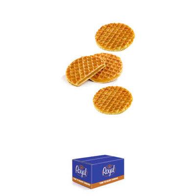 Mini caramel Stroopwafel(koekjes) 150 P/st verpakt
