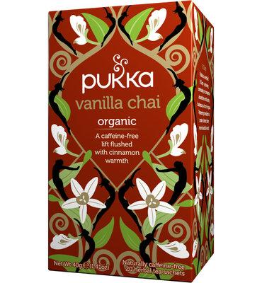 Pukka Vanilla Chai Bio (20 Theezakjes)