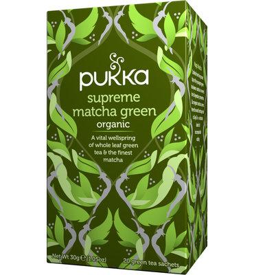 Pukka Supreme Matcha Bio (20 Theezakjes)