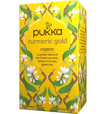 Pukka Turmeric Gold Bio (20 Theezakjes)