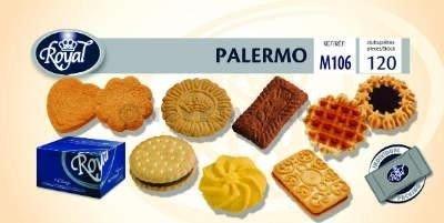 Royal Biscuit Palermo Mix Koekjes 120 p/st verpakt