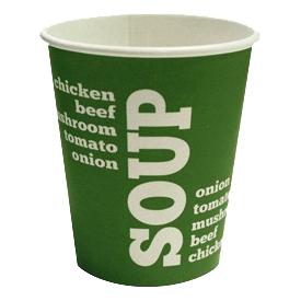 Kartonnen Drinkbeker Cup a soup karton 175 ML Rol 50 stuks