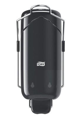 Tork Liquid Zeep dispenser zwart arm bediening S1
