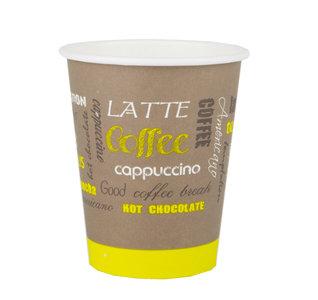 Kartonnen Koffiebeker Limetta 250ML rol 50 Stuks