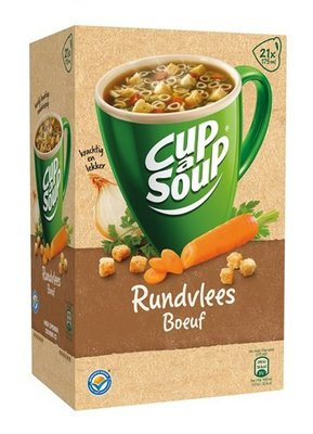Unox Cup-a-Soup Rundvlees 21 x 175 ml