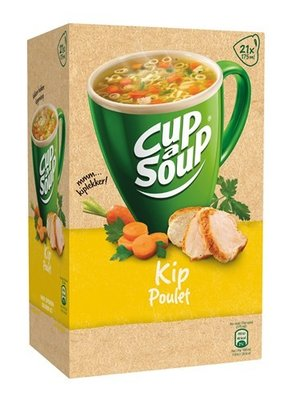 Unox Cup-a-Soup Kip 21 x 175 ml