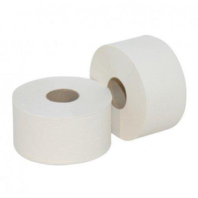 Toiletpapier Euro mini jumbo RW 2 laags 180 mtr x12 rol