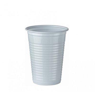 Plastic Drinkbeker Wit 180cc Eco doos 3000 Stuks