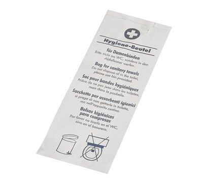 Hygiene zakjes papier 500 stuks