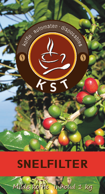 KST Snelfilter Koffie 1 kg.