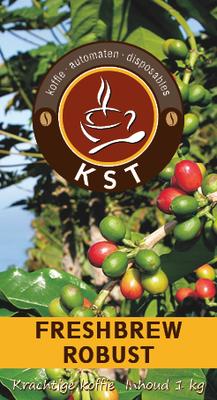 KST Freshbrew Koffie Robust 1 kg.