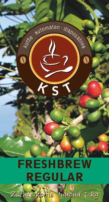 KST Freshbrew Koffie Regular 1 kg.