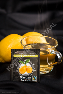 Garden series Sunny Green Lemon, Fairtrade 25 x 2 Gram