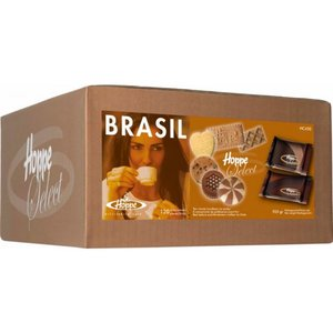 Hoppe Select Mix Brasil koffiekoekjes 120 stuks 6 soorten