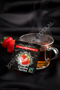 Garden series Tasty Strawberry Fairtrade 25 x 2 Gram
